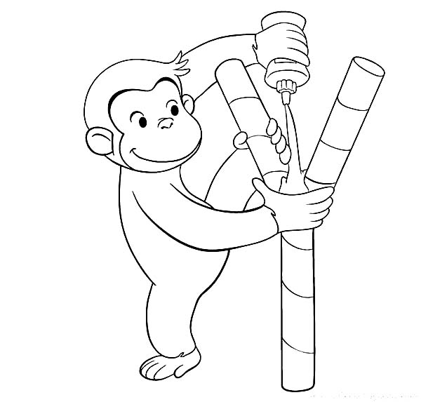 glue bottle coloring pages - photo#13