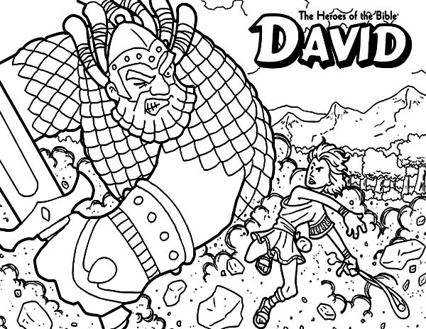 Free Coloring Pages Of Bible Heroes