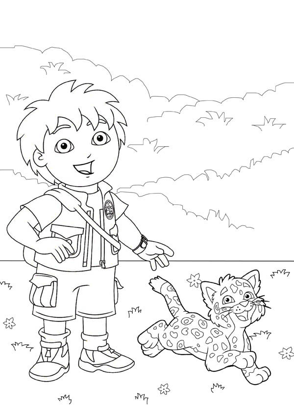 Junglejunction Free Colouring Pages Baby Jaguar Coloring Pages
