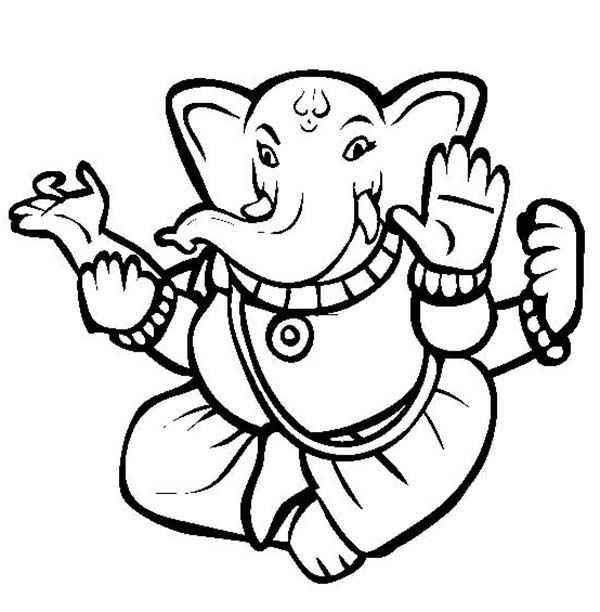 Divali is Hindu Festival of Light Coloring Page NetArt