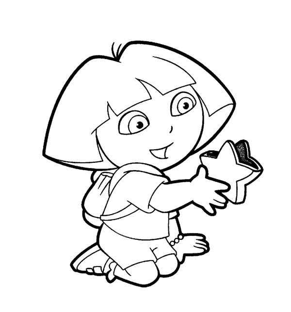 dora stars coloring pages - photo#19