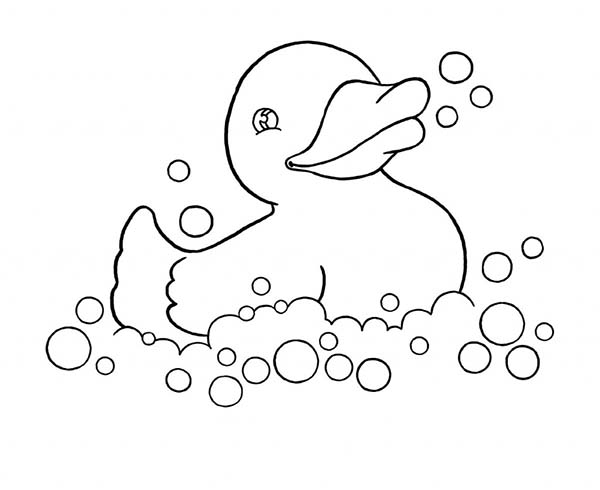 Duck Coloring Page