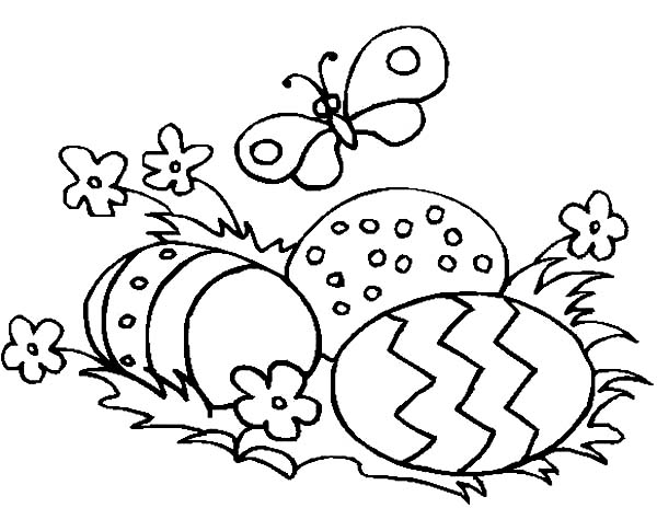 butterfly eggs coloring pages - photo#28