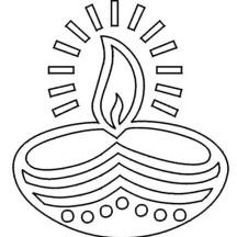 Diwali Netart Diwali Coloring Pages