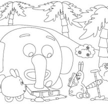 Jungle junction netart for Jungle junction coloring pages