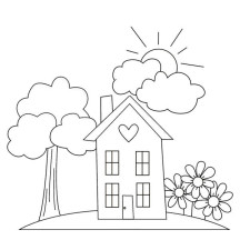 Happy Gran Parents Day Grandma Coloring Page