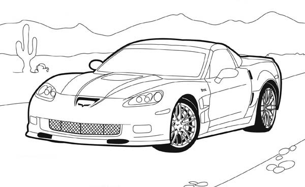 How to Draw Hot Wheels Coloring Page NetArt