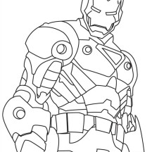 Tony stark suit coloring pages for Tony stark coloring pages