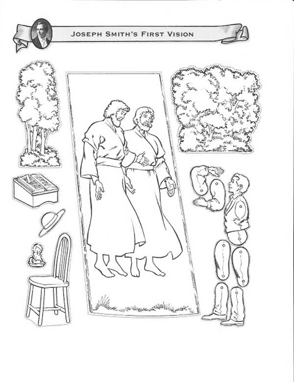 Ziemlich Joseph Smith Coloring Page First Vision Fotos - Entry Level ...