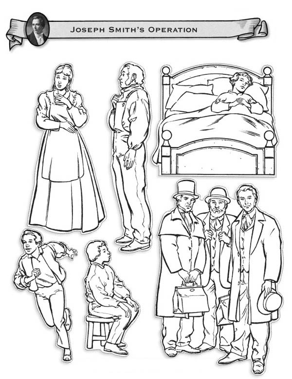 Joseph Smith Coloring Page Coloring Pages Joseph Smith Coloring Pages