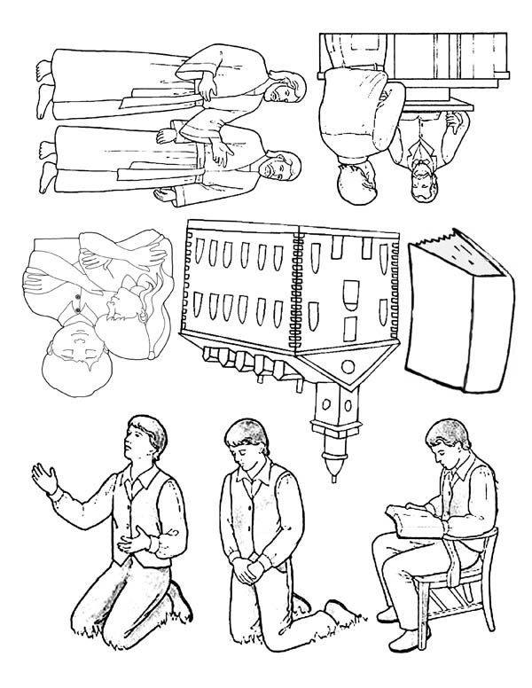 joseph smith coloring pages - joseph smith pictures coloring page netart