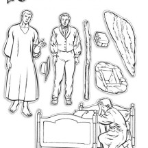 Joseph Smith Receive the Gold Plates Coloring Page
