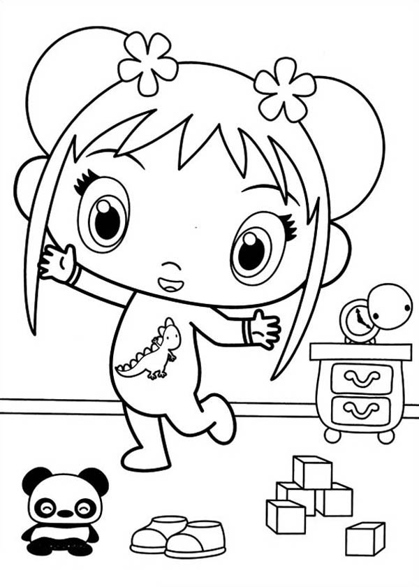 Image Result For Ni Hao Kai Lan Coloring Pages Printable