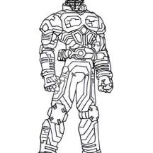 Kamen Rider Kabuto Coloring Page