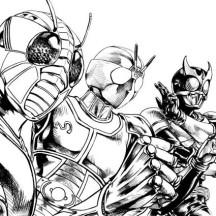Kamen Rider RGB Coloring Page
