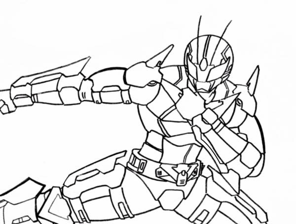 kamen rider coloring pages - photo#16