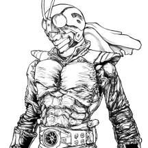 Kamen Rider Skyrider Coloring Page