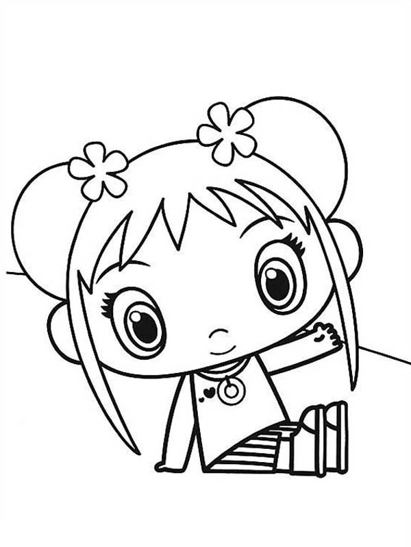 kai lan coloring pages - photo#10