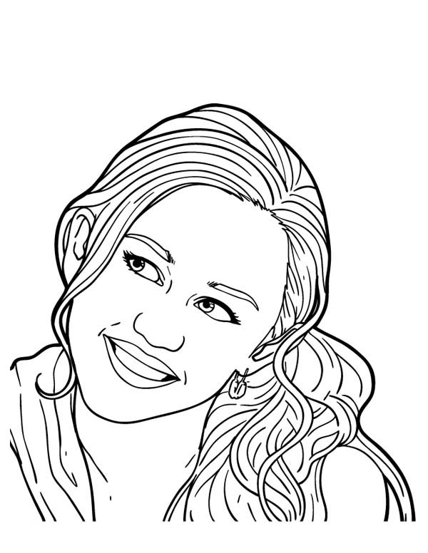hannah montana online coloring pages - photo#29