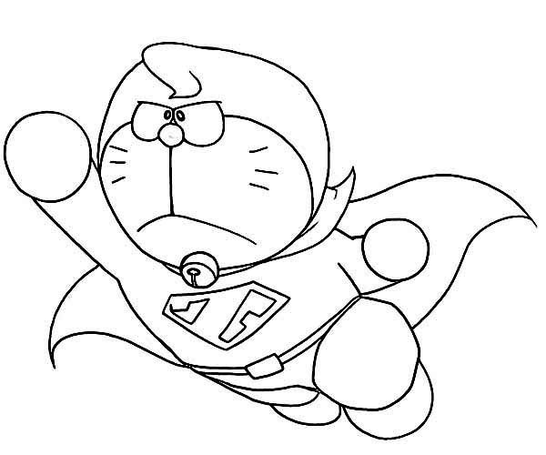 Free Doraemon And Coloring Pages