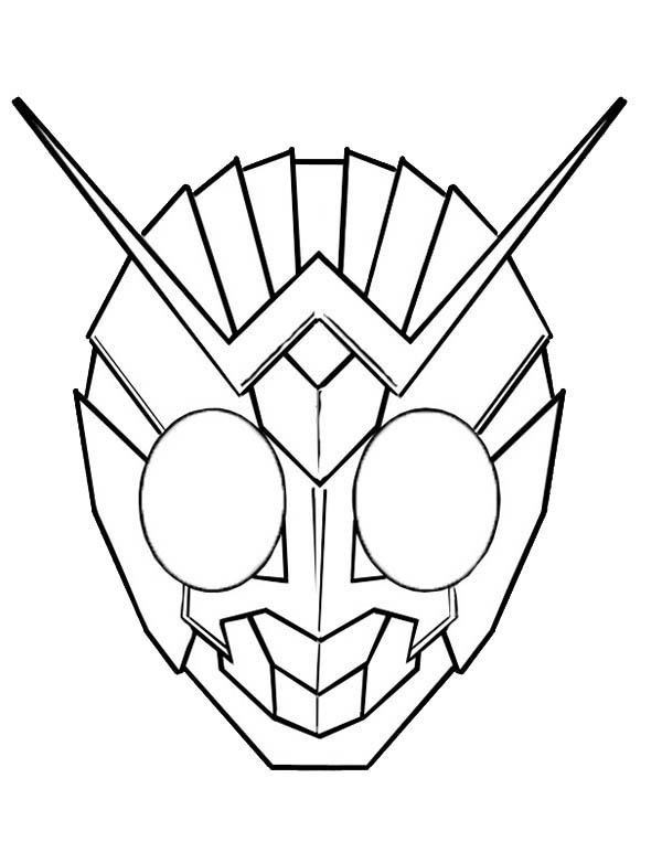 kamen rider coloring pages - photo#50