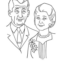 The Best Grandparents on Gran Parents Day Coloring Page