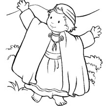 The Bible Heroes Coloring Page