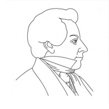The Founder of Latter Day Saint Movement Joseph Smith Coloring Page