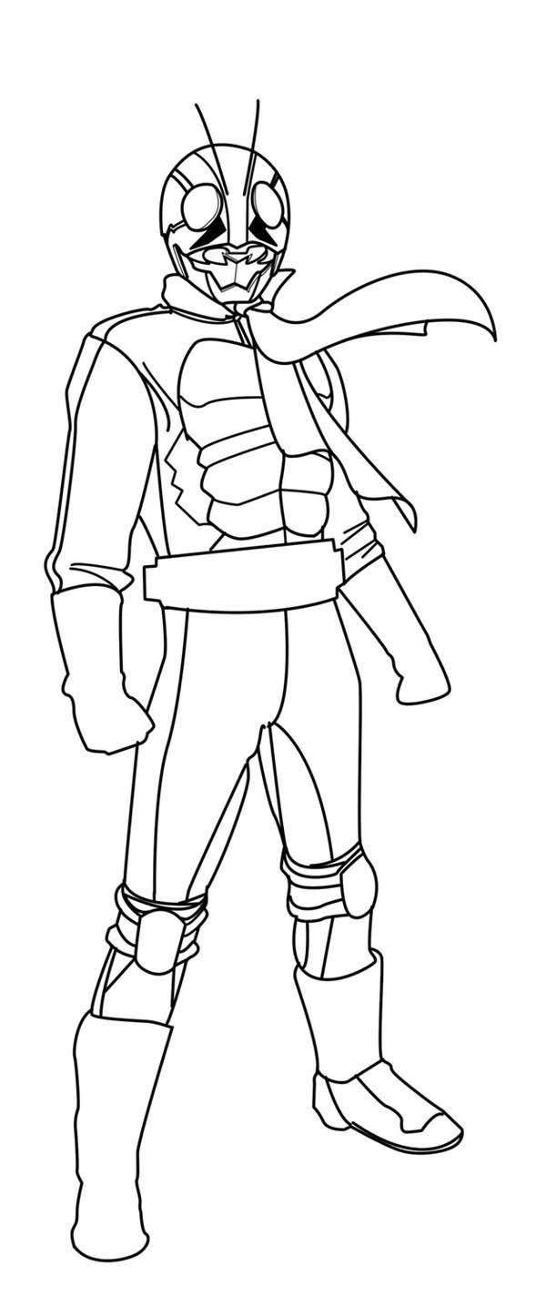 kamen rider coloring pages - photo#28