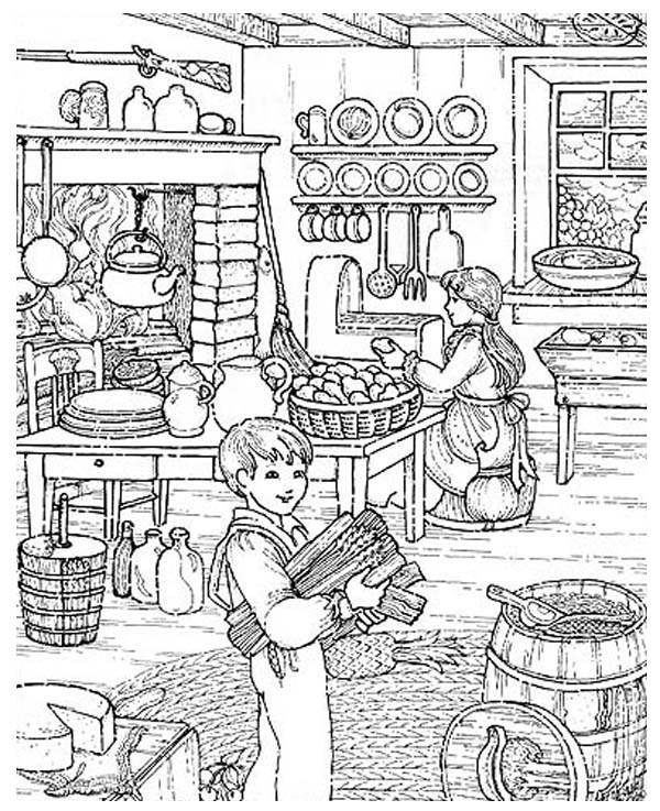 The Life Of Joseph Smith Coloring Page