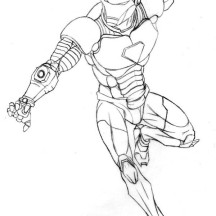 Iron man netart for Tony stark coloring pages