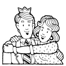 You are the Best Grandparents in Gran Parents Day Coloring Page