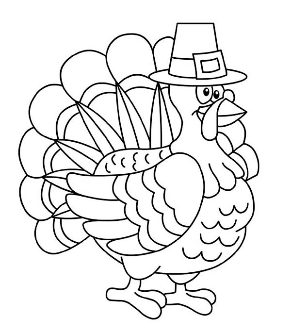Canada thanksgiving day turkey trot chicago coloring page for Thanksgiving day coloring pages printable