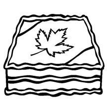 Memorable Canada Day Cake Decoration Coloring Pages