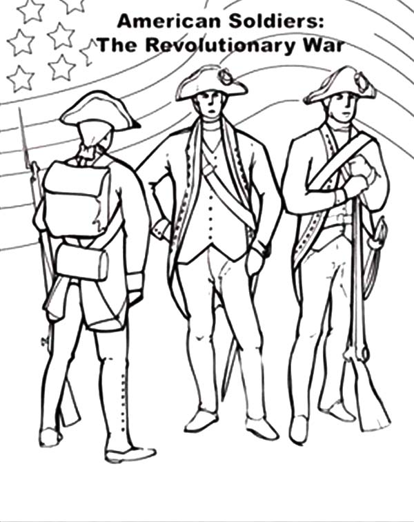 american revolution coloring pages printable - photo#27