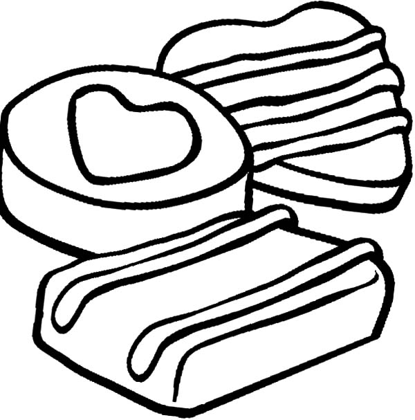 Cookie Coloring Page. Cookies Coloring Page Az Coloring ...