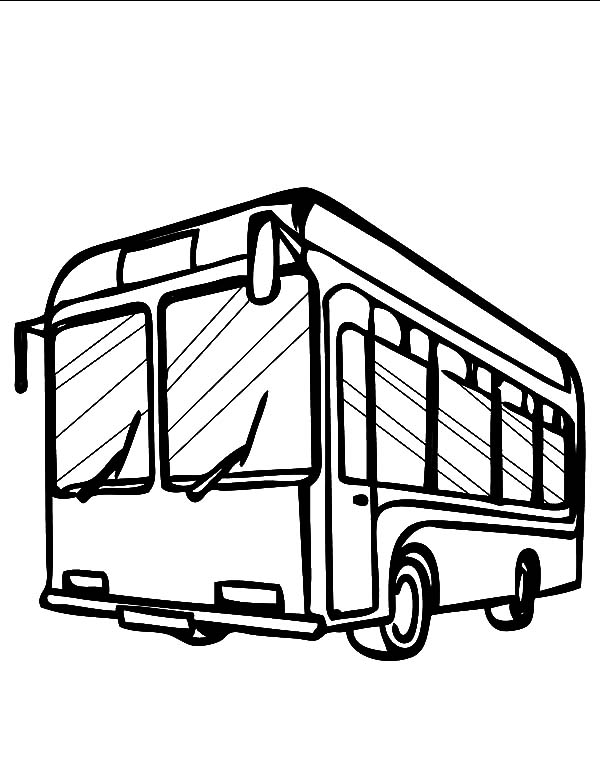 gas station coloring page - photo #35