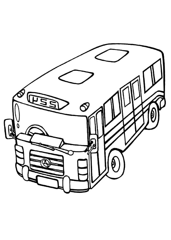 gas station coloring page - photo #46