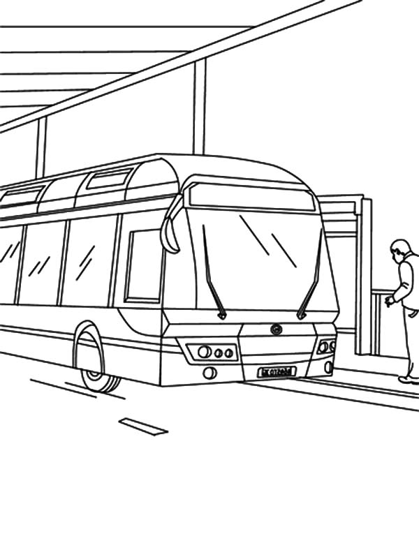 gas station coloring page - photo #17