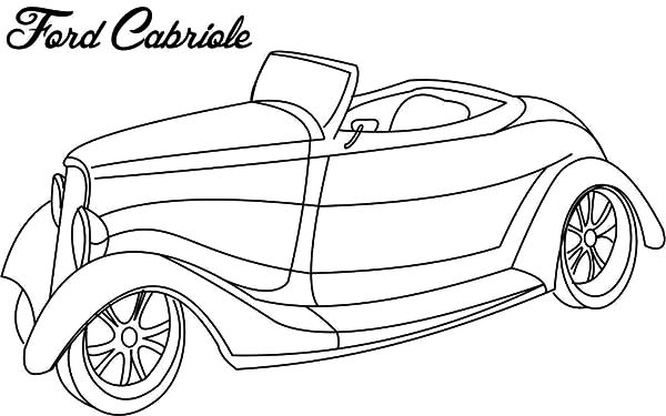 Coloring Pages Model T Ford : Netart #1 place for coloring kids part 2