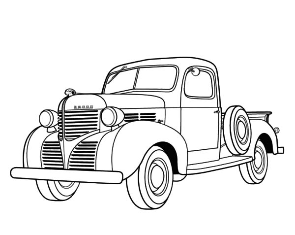 old dodge truck drawings gallery