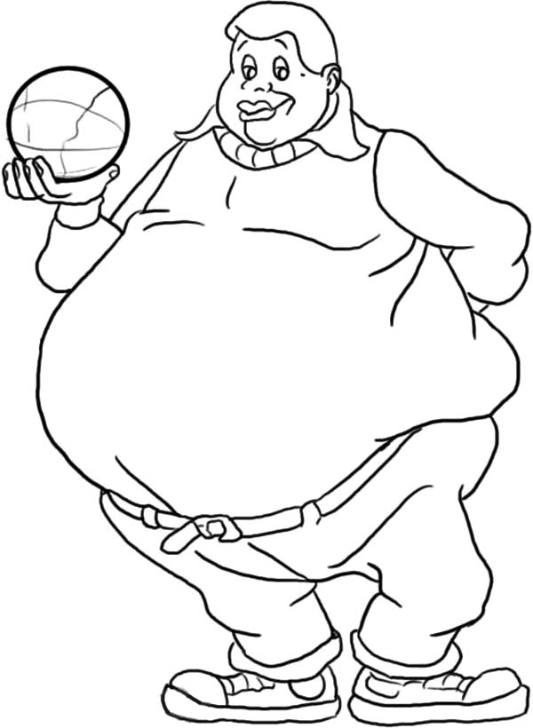 Fat Albert Coloring Pages