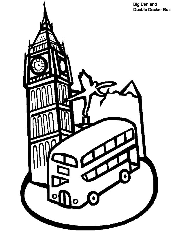 london clock tower and double decker bus in london garfield clipart camping garfield clipart camping