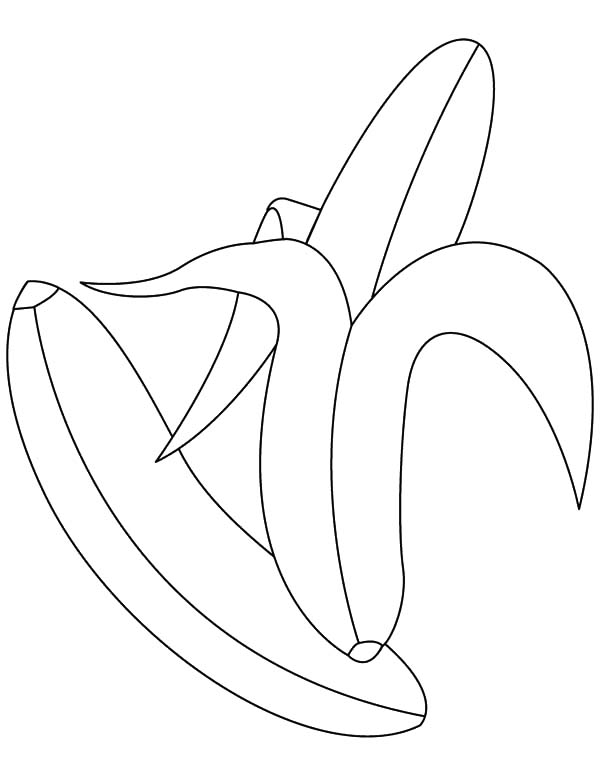 bunch of banana coloring pages - photo#26