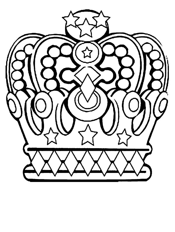 Priceless Kingdom Crown Coloring Pages