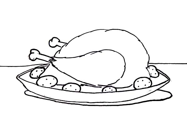 Fried dynamite free colouring pages for Printable chicken coloring pages