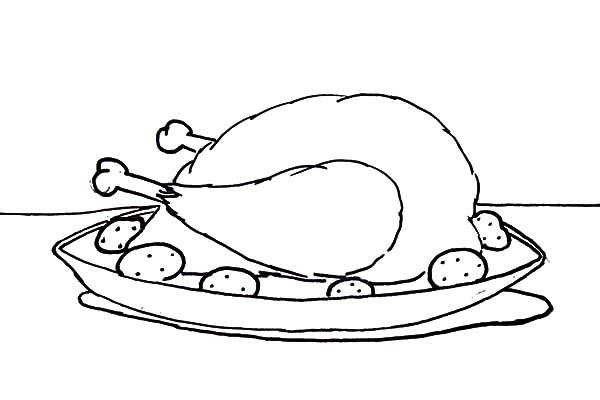 Chicken Drumstick NetArt