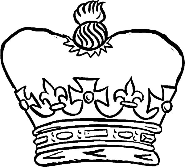 The Crown of the King Coloring Pages