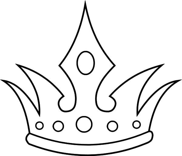 Queen Crown Coloring Coloring Pages