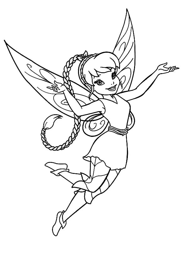 Disney Fairy Fawn In Pixie Coloring Page Netart